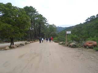 Départ de randonnée (PR6 - Chjassu di I Carbunari)