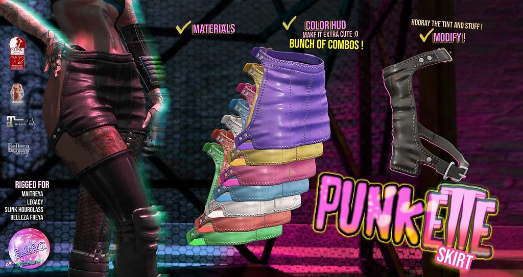 SEKA's Punkette Skirt @KINKY