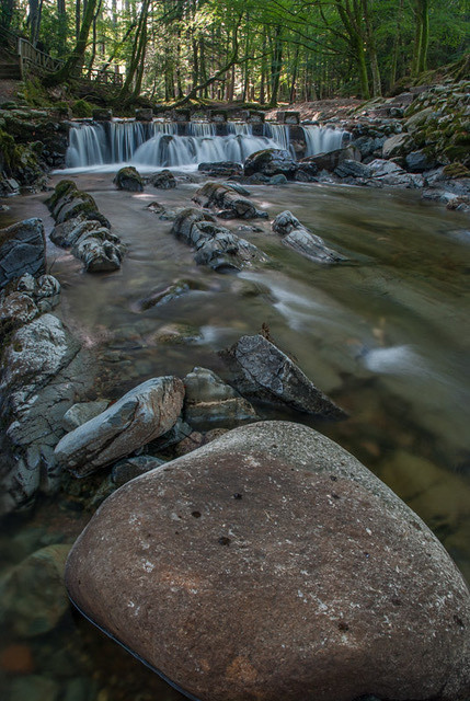 Stepping Stones in the Mountains @ Tollymore Forest Park