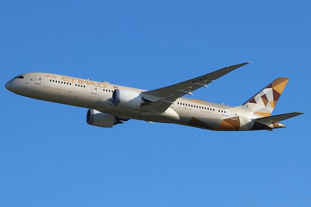 A6-BLM | Boeing 787-9 Dreamliner | Etihad Airways