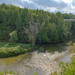 Divided river gorge - view from Lover's Leap, Elora