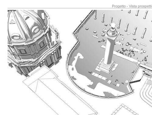"""ROMA ARCHEOLOGICA & RESTAURO ARCHITETTURA 2020. Aggiornamento: Gli studi, gli scavi, i rilievi architettonici e la sistematizzazione della Colonna e del Tempio di Traiano (2013-20). S.v., A. Delfino, """"Foro di Traiano,"""" ScAnt 21.3 (2015): 219-252 [in PDF]."""
