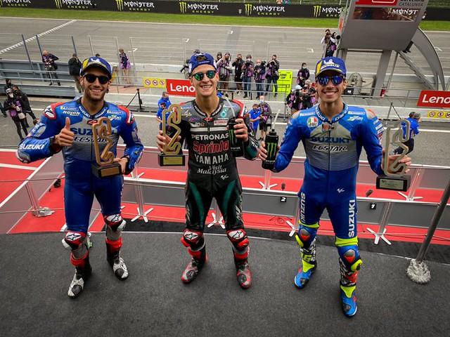 MotoGP Catalunya 2020 Podium