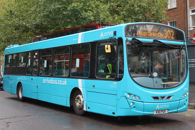 Arriva Volvo B7RLE (Wright Eclipse 2) 3888 KX11 PUV