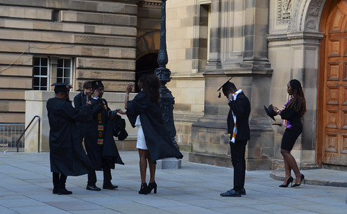 Edinburgh: Mock graduation