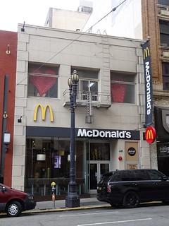 San Francisco, CA: McDonald's 441 Sutter St