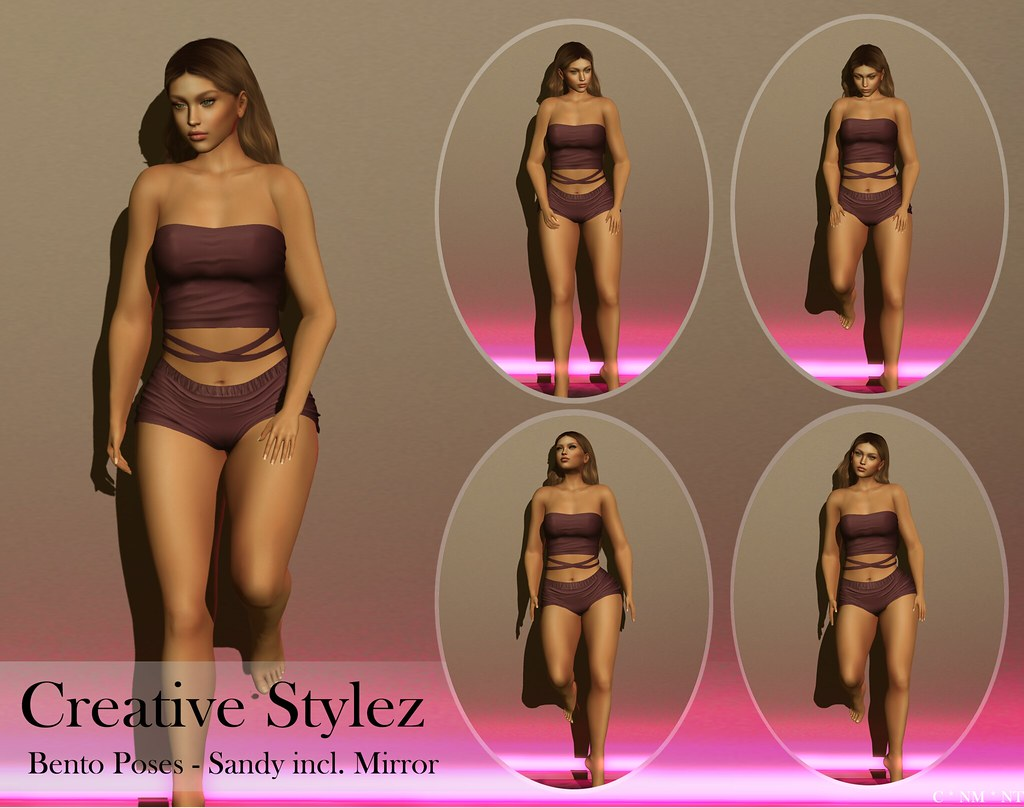 Creative Stylez – Bento Poses – Sandy –