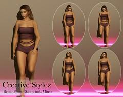 Creative Stylez - Bento Poses - Sandy -