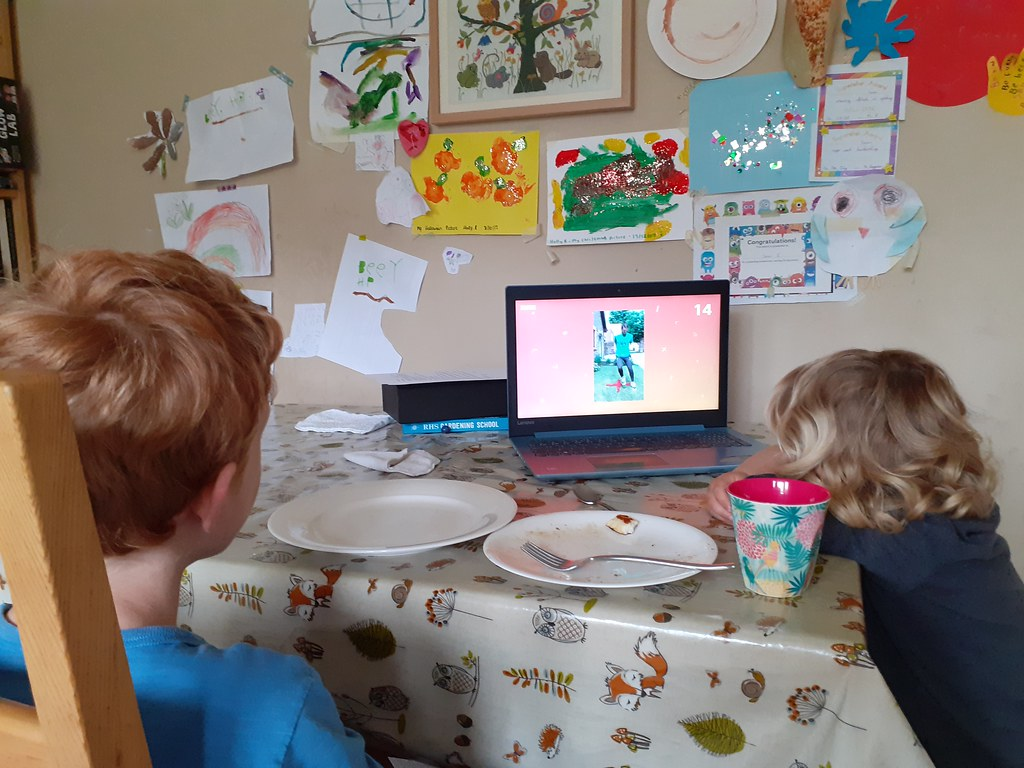 Watching BBC Bitesize Daily | Homeschooling during Covid-19 | Flickr