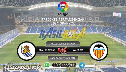 Prediksi Bola Real Sociedad vs Valencia 30 September 2020