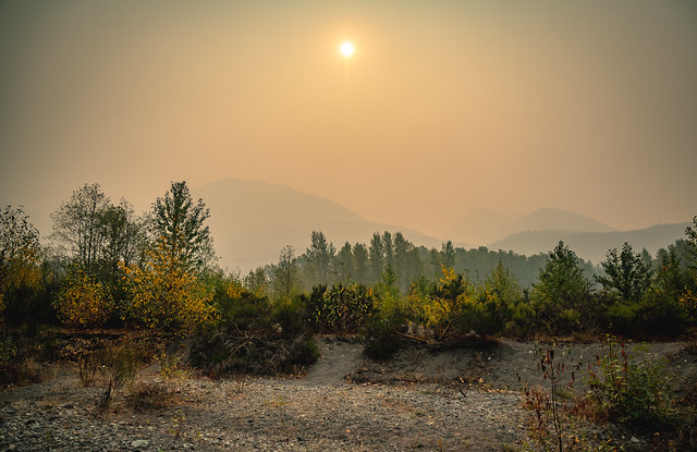 Packwood, Washington - Forest Fire Haze - September 2020