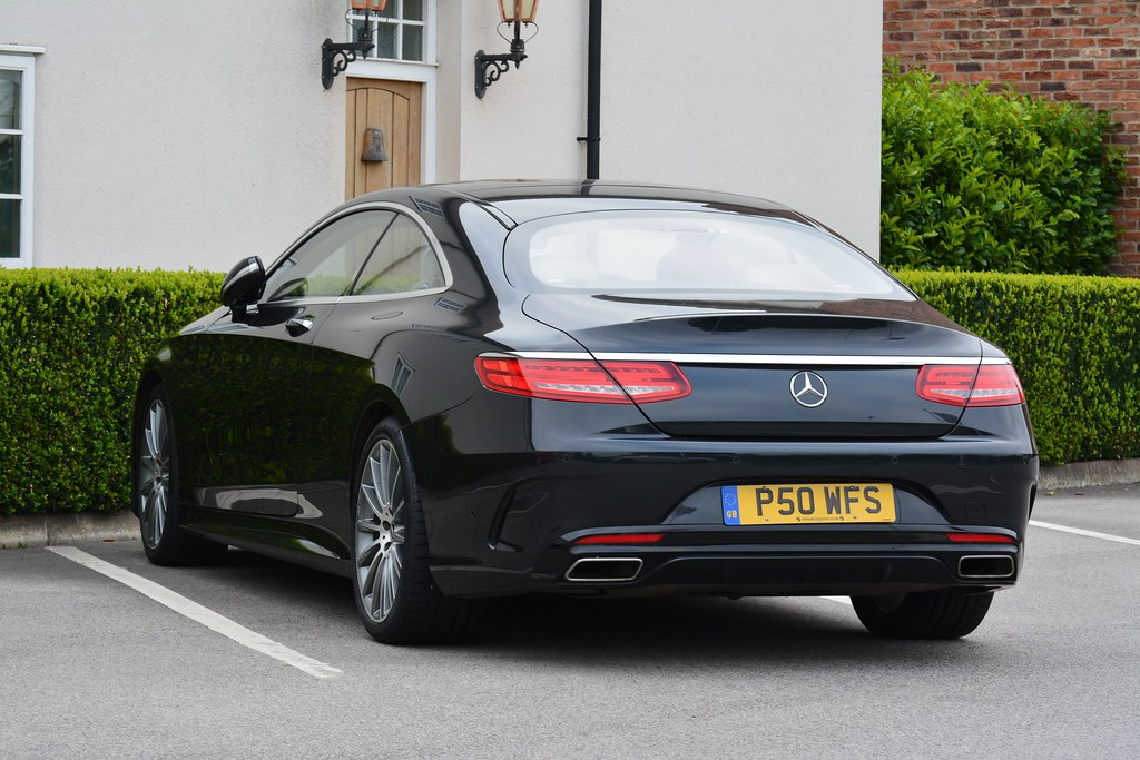 Mercedes-Benz S 500 AMG Line Coupe