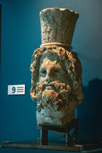 Head of Serapis with Kalathos (2)