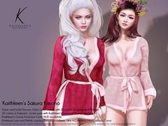 Kaithleen's Sakura Kimono Poster web