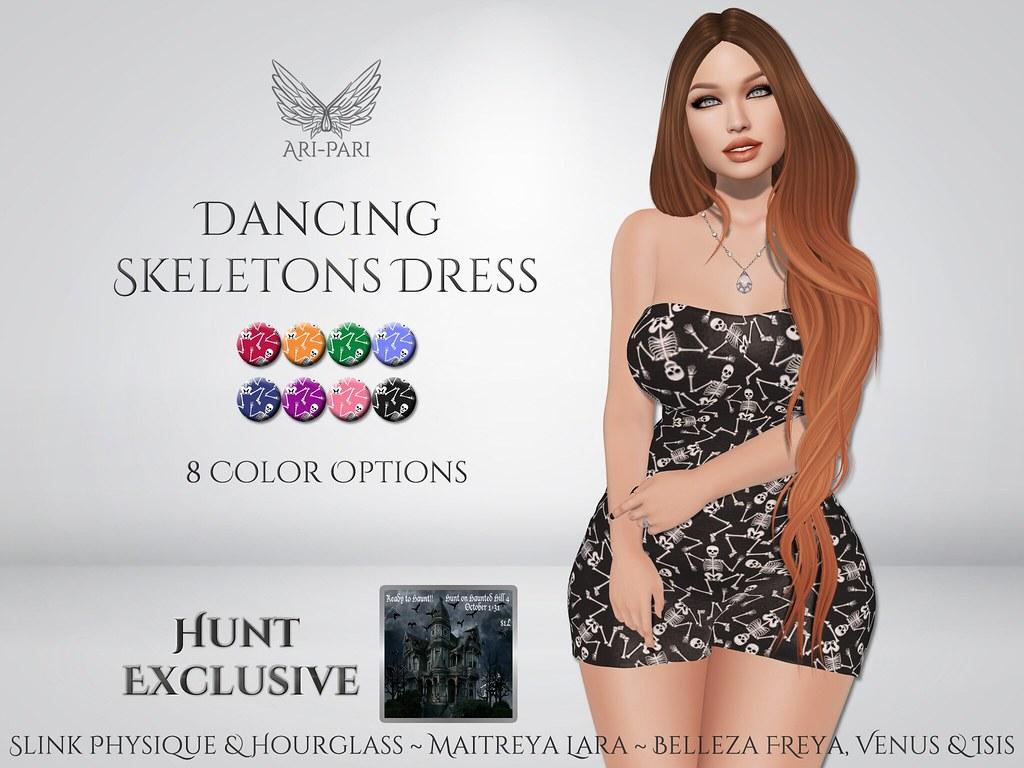 [Ari-Pari] Dancing Skeletons Dress