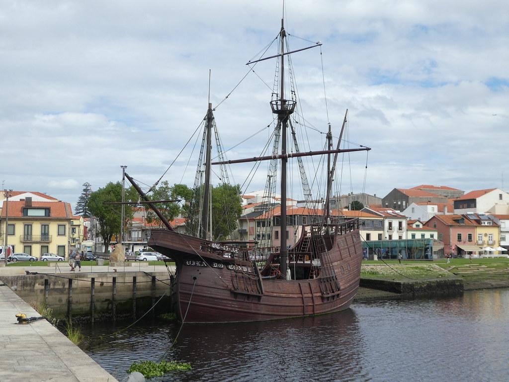 Nau Quinhentista replica boat, Vila do Conde