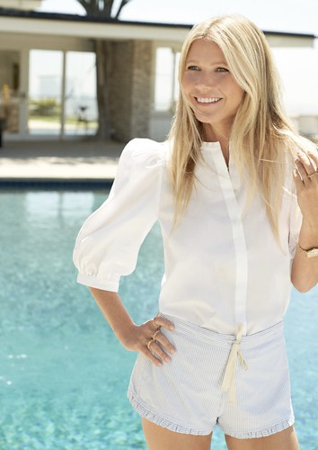 Gwyneth Paltrow Puff Sleeve