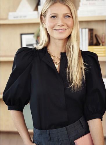 Gwyneth Paltrow Puff Sleeve