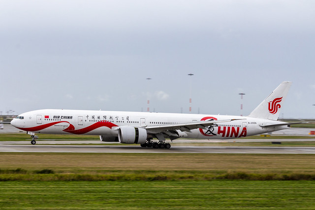 B-2006 Boeing 777-39L(ER) Air China 2020/09/26