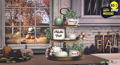 Aphrodite autumn Blessings tray