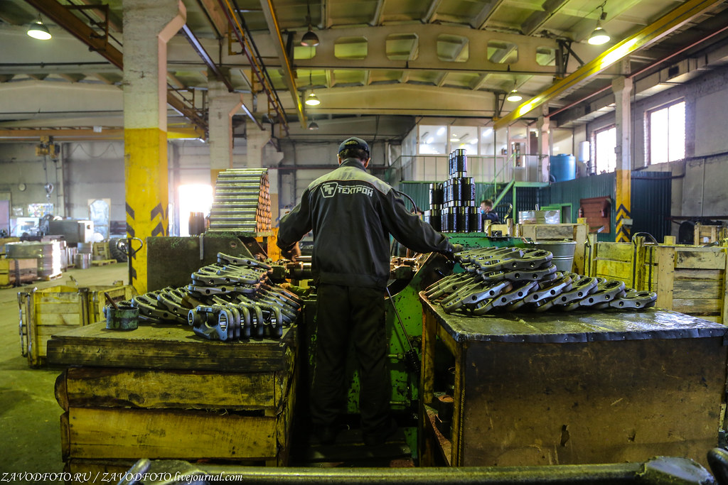 Как компания «Техтрон» делает гусеницы для бульдозеров и экскаваторов МАШИНОСТРОЕНИЕ,Челябинская область,АВТОМОБИЛЬНАЯ ПРОМЫШЛЕННОСТЬ,Челябинск