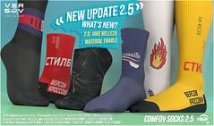 ** Comfov socks UPDATE 2.5 **