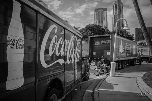 Miami mood - Coca-Cola trucks