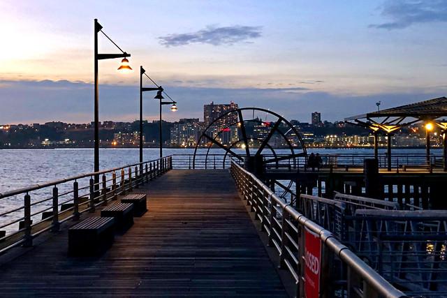 Pier 66 (after dark) - New York City