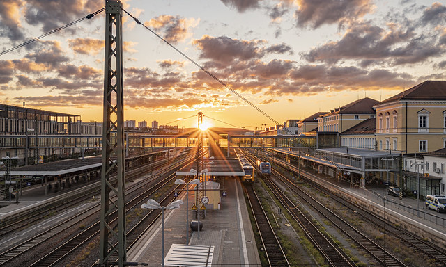 Main Station Sunset