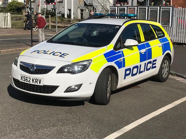 KS62KRV Devon &Cornwall Police