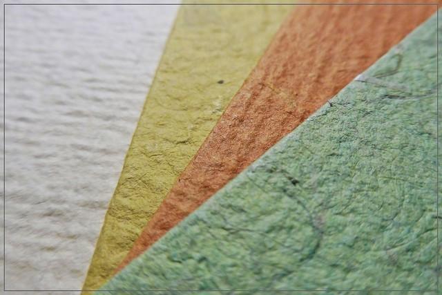 textures of paper :)
