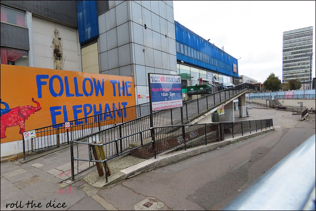 Elephant And Castle Shopping Centre`Closed Down...