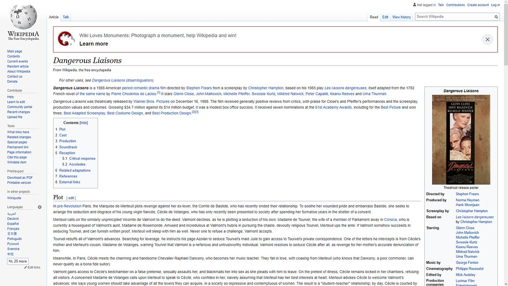 dangerous liaisons wiki