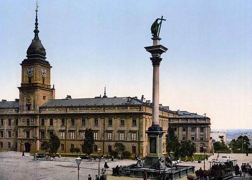 Zamek Królewski ok 1900