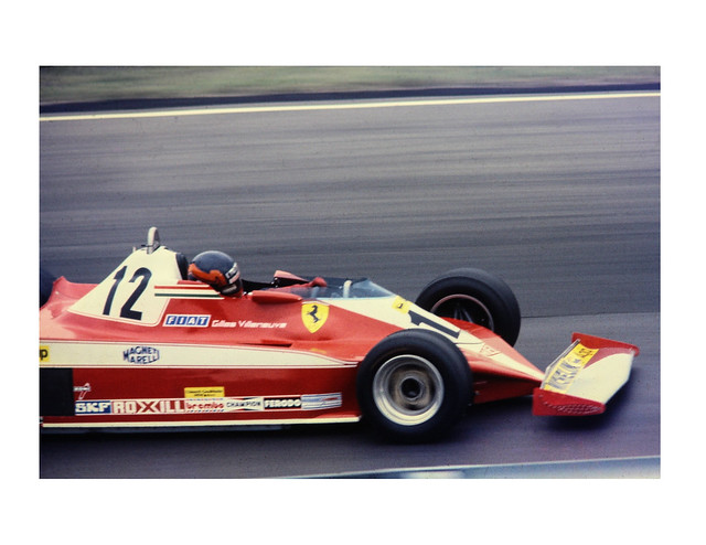 Gilles Villeneuve Ferrari 312 T3