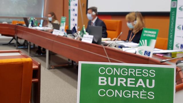 Meeting of the Congress Bureau - 28 Sept. 2020