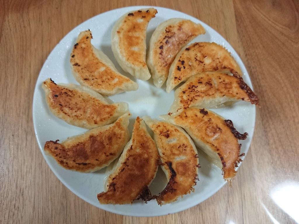 方 手作り 餃子 焼き