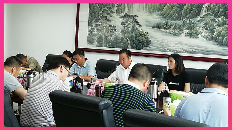 Animals Asia met the Jinchang government in the Gansu province  in 2018 to discuss dog ownership management