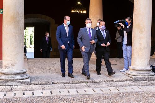 Reunión con el alcalde de Guadalajara