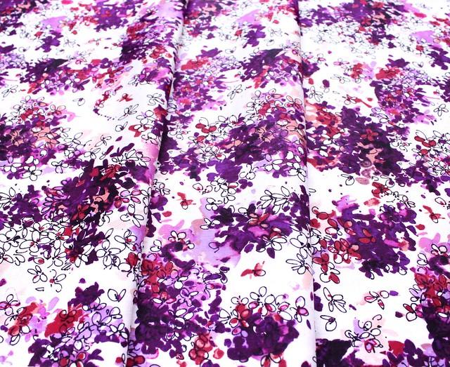 RJR Fabrics Ink Rose RJ1802-DA1 Lili Flowers Dawn