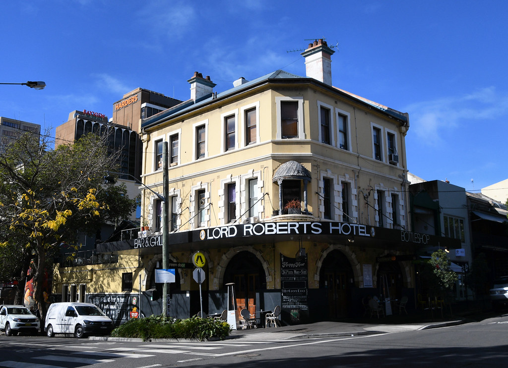 Lord Roberts Hotel, Darlinghurst, Sydney, NSW.