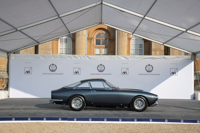Third Place to Best of Show 1964 Ferrari 250 GT Lusso