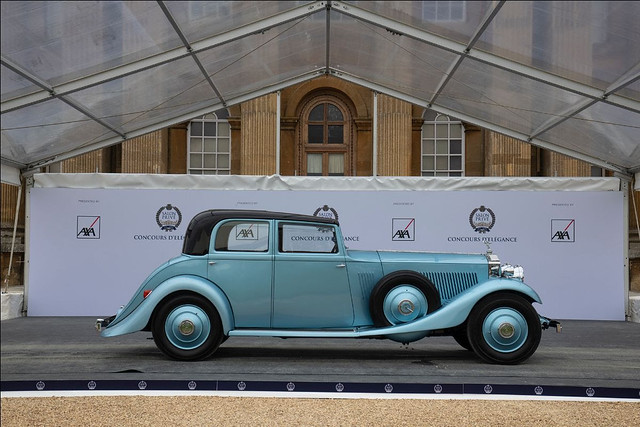 Most Exceptional Coachwork 1933 Rolls-Royce Phantom II Continental Touring Salloon