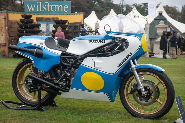 Class C Exceptional Competition Motorcycles - Winner 1980 Suzuki RG500