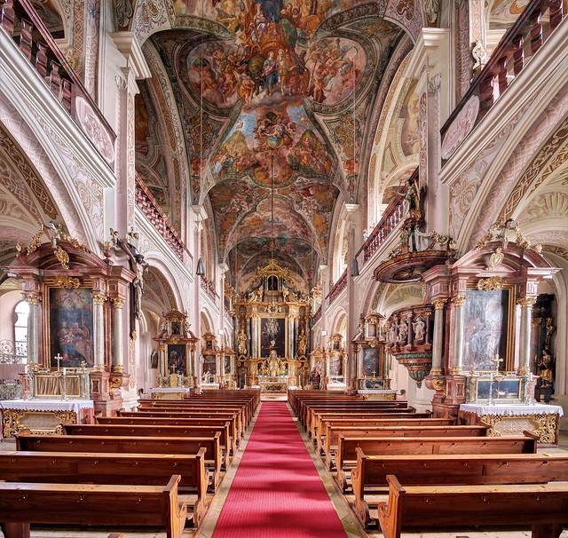 Oberalteich, Pfarrkirche, ehem. Klosterkirche St. Peter