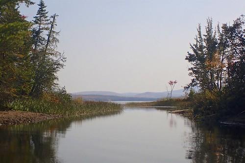 Sneak route into Lake Umbagog