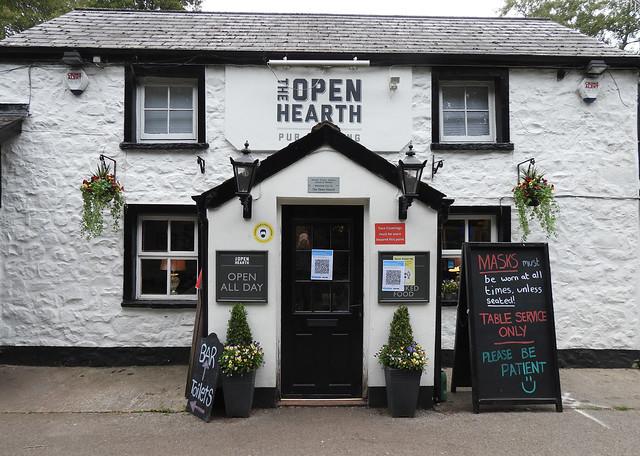 Coronavirus - The Open Hearth, Monmouthshire-Brecon Canal, Sebastopol, Pontypool 28 September 2020