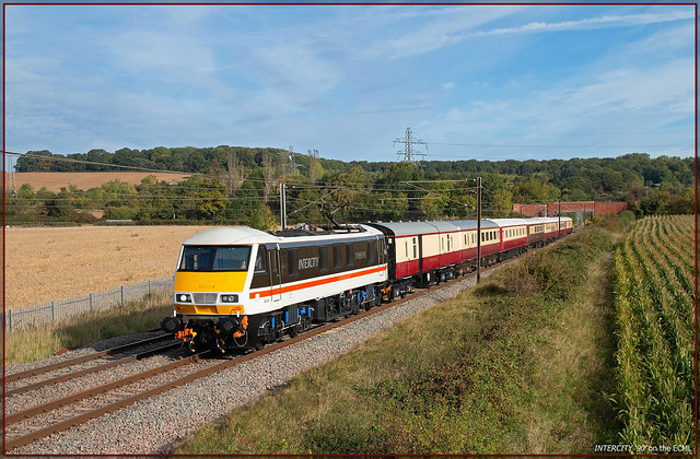 INTERCITY '90' on the ECML