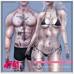 4761 - Friday 13 Tattoo