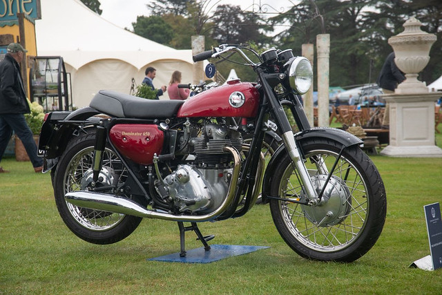 Class B Exceptional Street Motorcycles - Winner 1965 Norton Unified Twin